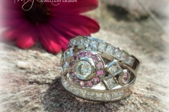 Pink Sapphire ring 2