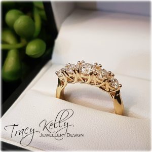 Diamond ring remodel 1
